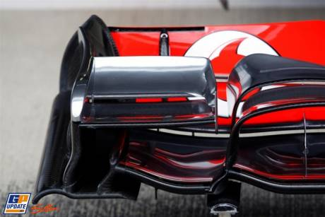 Front Wing End Plate of the McLaren Mercedes MP4-26