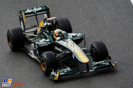 Karun Chandhok, Team Lotus, T128
