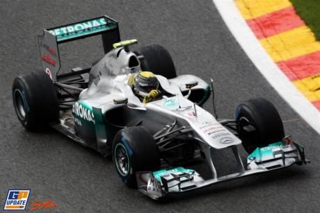 Nico Rosberg, Mercedes F1 GP Team, MGP W02