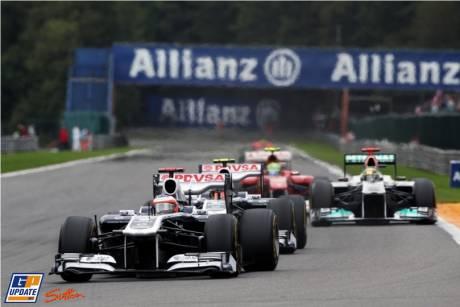 Rubens Barrichello, Williams F1 Team, FW33