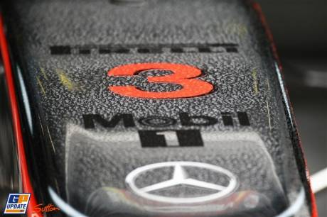 The Nose Cone for the McLaren Mercedes MP4-26