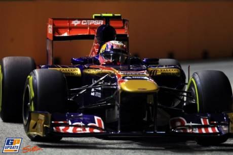 Jaime Alguersuari, Scuderia Toro Rosso, STR6