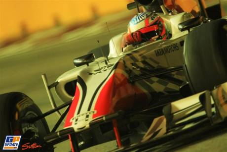 Narain Karthikeyan, Hispania F1 Racing Team, F111