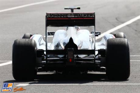 Jenson Button, McLaren Mercedes, MP4-26
