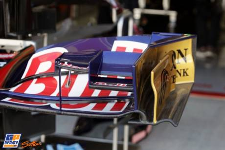 Front Wing End Plate for the Scuderia Toro Rosso STR6