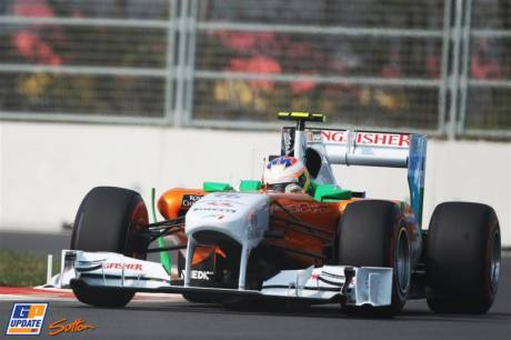 Paul di Resta, Force India F1 Team, VJM04