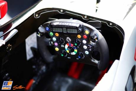 The Steering Wheel for the Lotus Renault GP R31