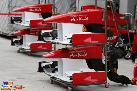Nose Cones and Front Wings for the Scuderia Ferrari Italia 150