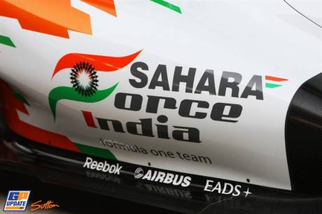 Side Pod for the Force India F1 Team VJM04