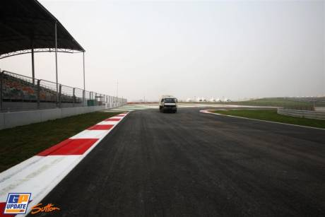 A corner of the Buddh International Circuit
