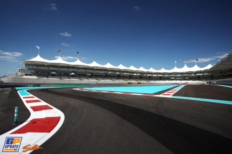 A few corners of the Yas Marina Circuit