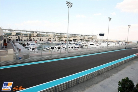 The Marina in the Yas Marina Circuit