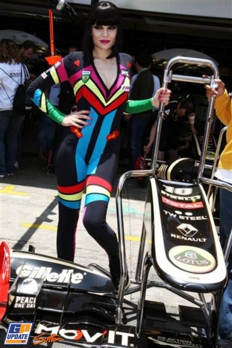 A Girl in the Pitlane