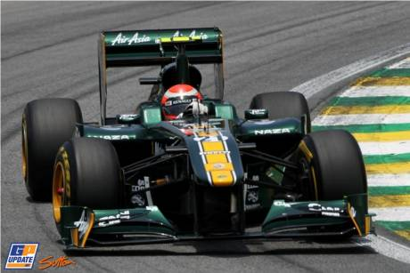 Jarno Trulli, Team Lotus, T128