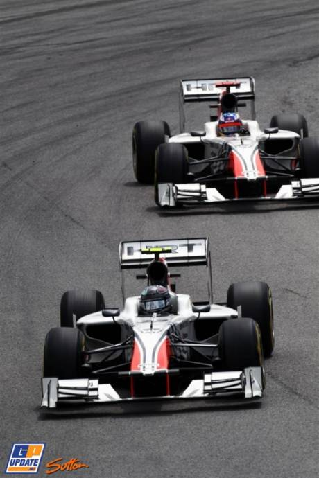 Vitantonio Liuzzi and Daniel Ricciarado, Hispania Racing F1 Team, F111