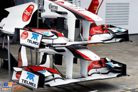 Front Wings for the Sauber F1 Team C30