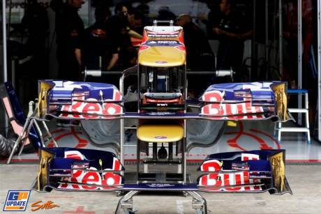 Front Wings for the Scuderia Toro Rosso STR6