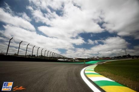 A Corner on the Autódromo José Carlos Pace