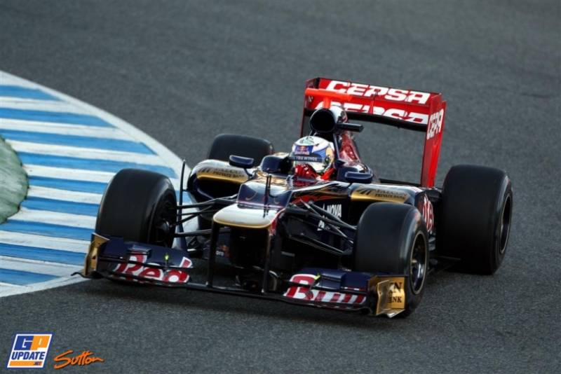 Equipe Toro Rosso de Formula 1 de 2012 - by formula1.wordpress.com - GP Update