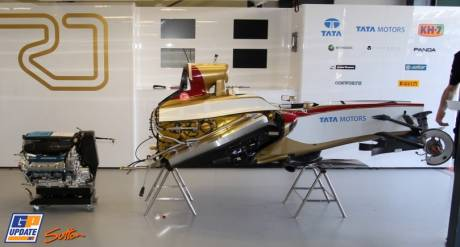 The Front Part of the Hispania Racing F1 Team F112