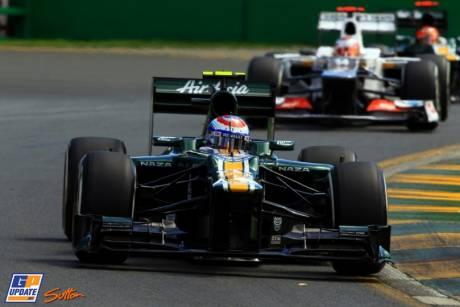 Vitaly Petrov, Caterham F1 Team, CT01