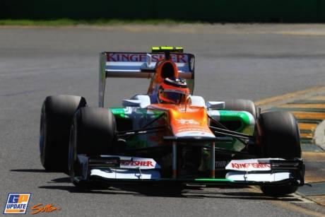 Nico Hulkenberg, Force India F1 Team, VJM05