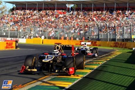 Kimi Raikkonen, Lotus Renault GP, E20