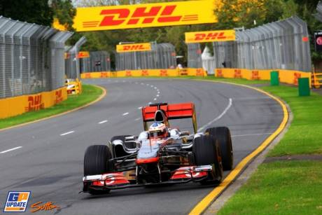A Demonstration of Garry Paffett in an older McLaren
