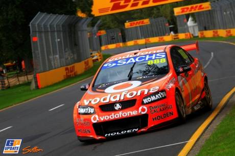 A Demonstration of the Holden V8 Supercar