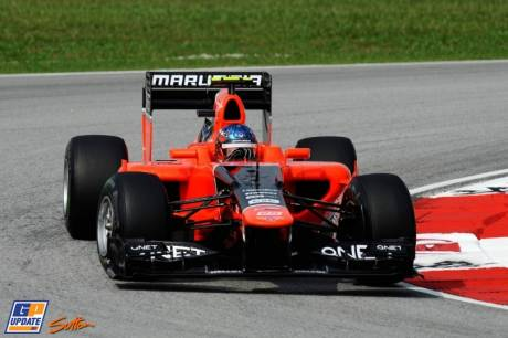 Timo Glock, Marussia F1 Team, MR01