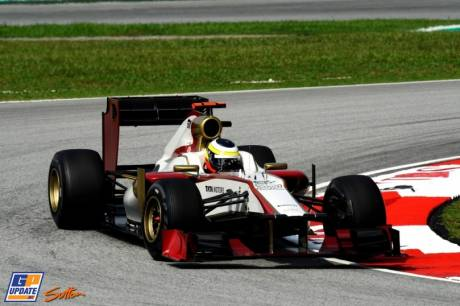 Pedra de la Rosa, Hispania Racing F1 Team, F112