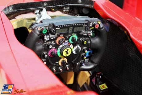 Cockpit for the Scuderia Ferrari F2012