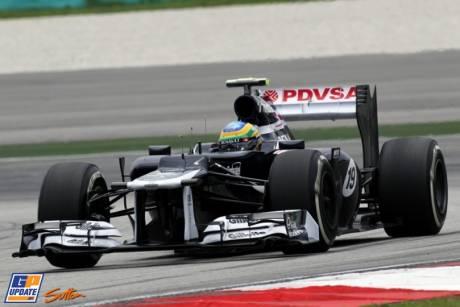 Bruno Senna, William F1 Team, FW34