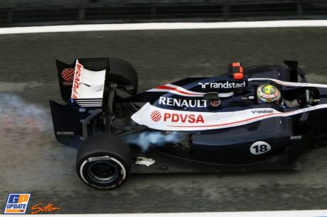 Pastor Maldonado, Williams F1 Team, FW34