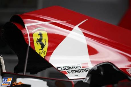 Engine Cover for the Scuderia Ferrari F2012