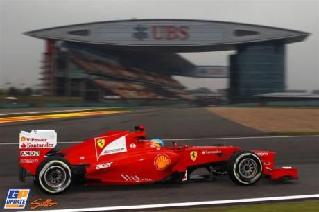 Fernando Alonso, Scuderia Ferrari, F2012