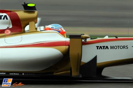 Narain Karthikeyan, Hispania Racing F1 Team, F112