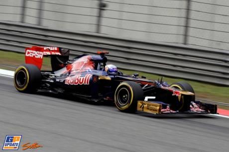 Daniel Ricciardo, Scuderia Toro Rosso, STR7