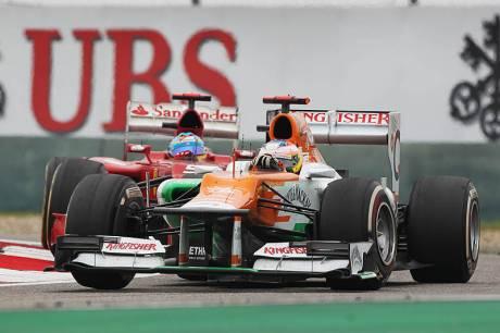 Statistics Chinese Grand Prix of 2012