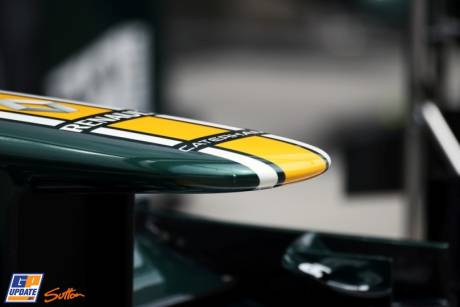 A Detail of the Nose Cone for the Caterham F1 Team CT01