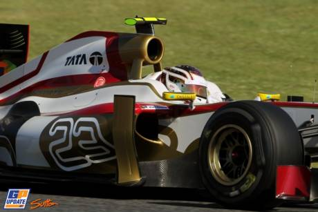 Dani Clos, Hispania Racing F1 Team, F112
