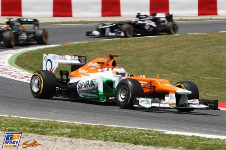 Paul di Resta, Force India F1 Team, VJM05