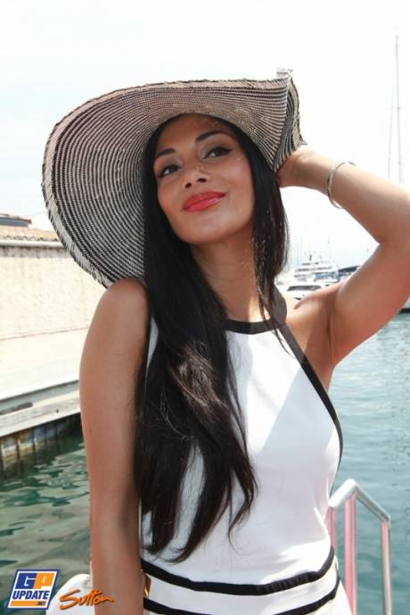 Nicole Scherzinger, Girlfriend of Lewis Hamilton