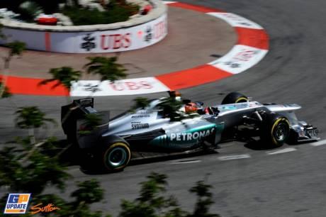 Michael Schumacher, Mercedes AMG F1 Team, W03