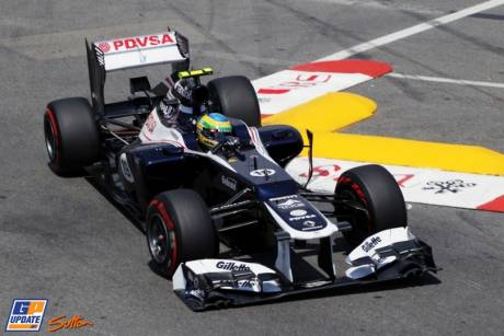 Bruno Senna, Williams F1 Team, FW34