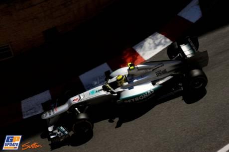 Nico Rosberg, Mercedes AMG F1 Team, W03