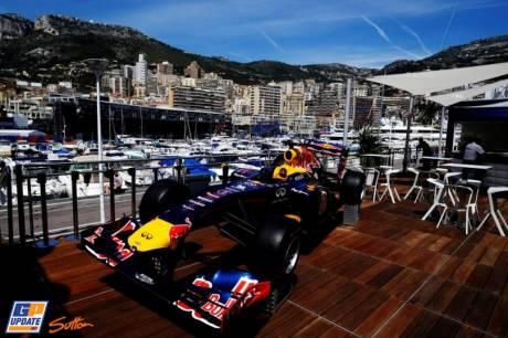 The Red Bull Racing Demo Car