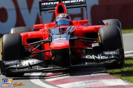 Charles Pic, Marussia F1 Team, MR01