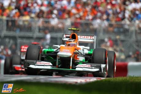 Nico Hulkenberg, Force India F1 Team, VJM05