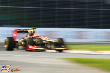 Romain Grosjean, Lotus Renault GP, E20